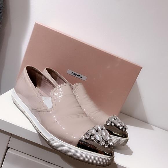 pink miu miu shoes